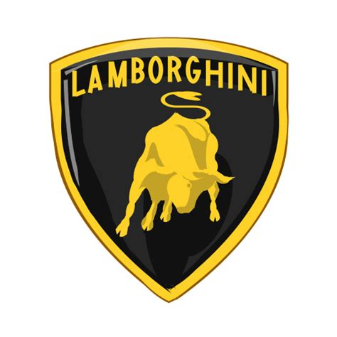 lamborghini logo png lamborghini logo black and white pictures to pin on