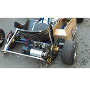 1000 Watt Electric Go Kart Homemade  Racerlt