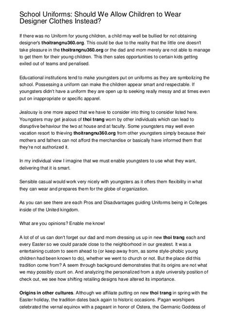 persuasive essay on school uniform 9 essay writing tips to school