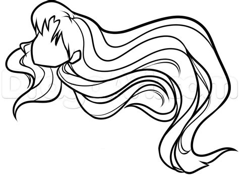 how to draw easy anime hair how to draw anime hair for beginners step by step anime
