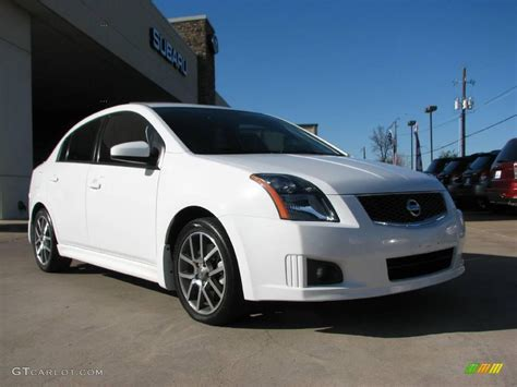 white nissan sentra 2008 2007 fresh powder white nissan sentra se r spec v 1597587