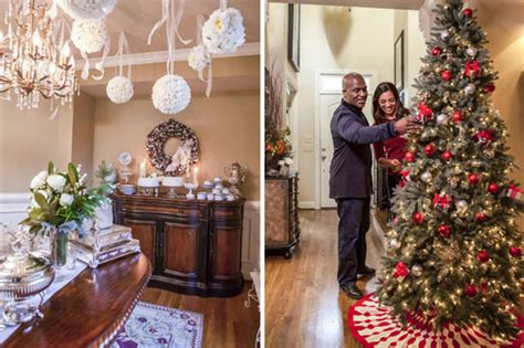 decorated homes photos behind the scenes hgtv s celebrity holiday homes