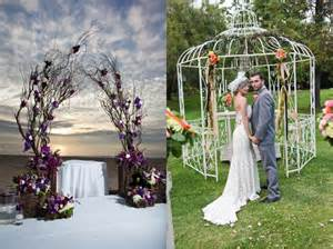 interesting ideas for wedding arch home decorating ideas