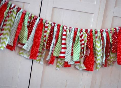 1000 ideas about fabric garland on pinterest garlands fabric christmas pinterest