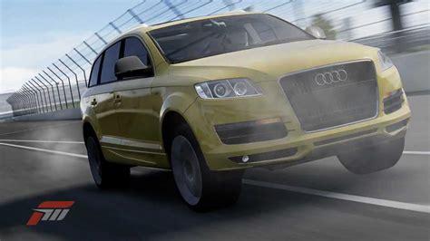 Audi Q7 V12 Tdi Test by 240km H Crash Test Audi Q7 V12 Tdi Youtube