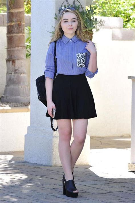 Carpenter Style House by Sabrina Carpenter Out And About 10 05 2015 Hawtcelebs