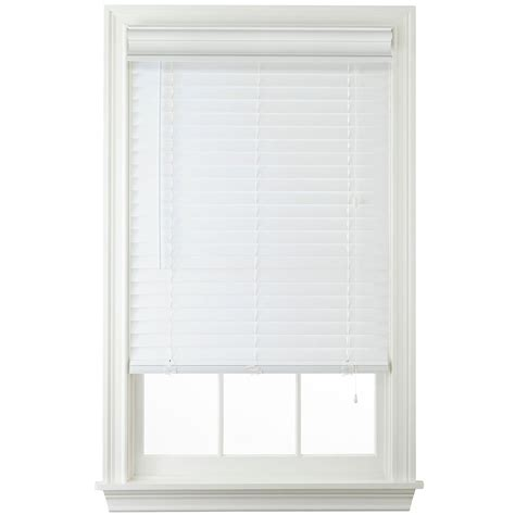 Wooden Horizontal Blinds 2 Quot Faux Wood Horizontal Blinds White 34x72