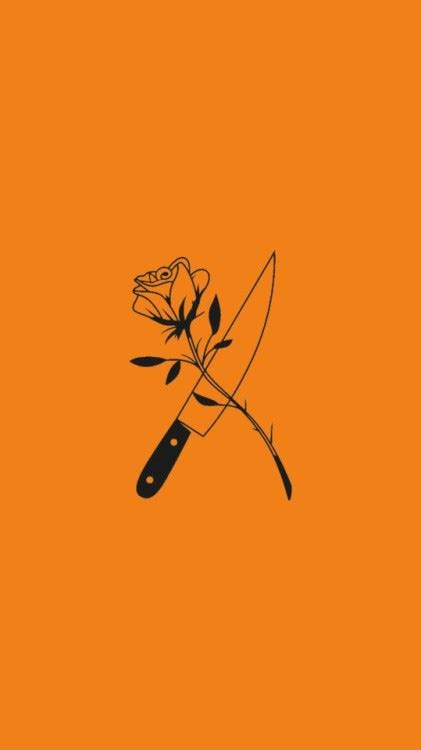 tumblr wallpaper orange orange lockscreen tumblr