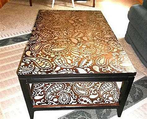 Stencil Table by 109 Best Images About Paisley Stencils On