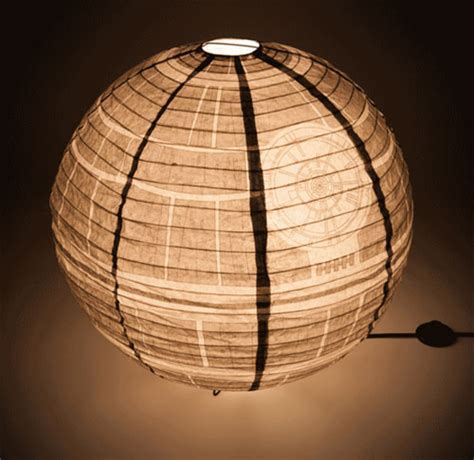star wars death star giant paper lantern thinkgeek star wars death star giant paper lantern junior hipster