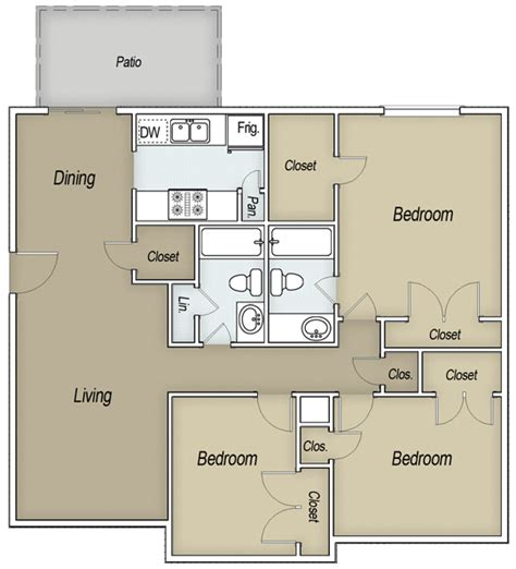 Chic And Creative All Bills Paid Bedroom Apartments In San Antonio Tx Amazing All