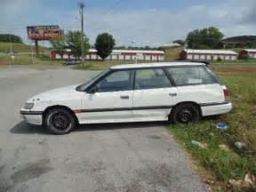 All Wheel Drive Subaru 1991 Subaru Legacy Wagon Factory Right Drive All