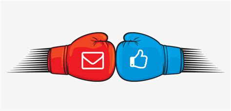 Social Media Search By Email Email Marketing Vs Social Media Performance 2016 2019 Statistics