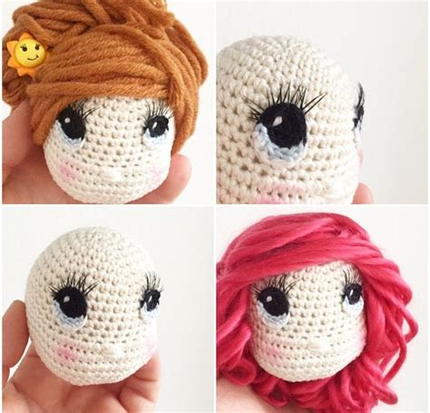 amigurumi eyes 125 best images about crochet doll pattern on