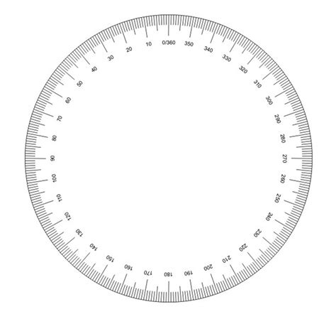 printable full protractor 16 useful printable protractors kitty baby love
