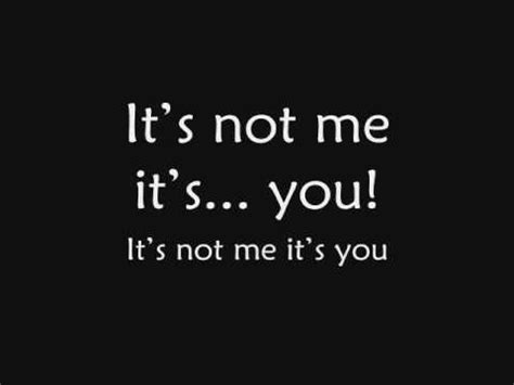 The Me Me Me S - skillet it s not me it s you lyrics youtube