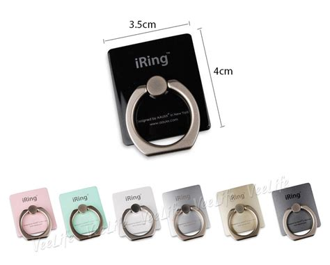 Sale Iring Mobile Phone Stand Smartphone Grip buy iring authentic premium smartphone grip strong secure adhesive iphone ring phone hook