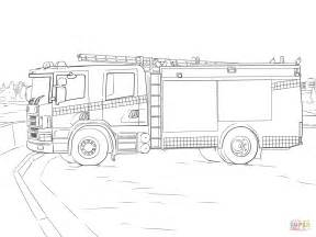 Fire Truck Coloring Pages Free Printables Sketch Page sketch template