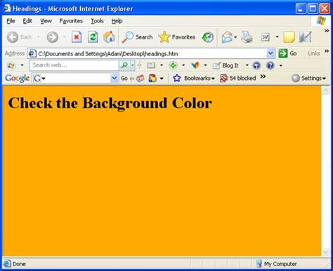 bg color background color in html