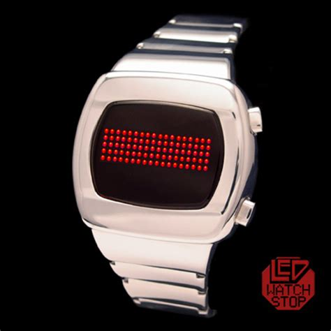 zeon cool retro led w scrolling grid