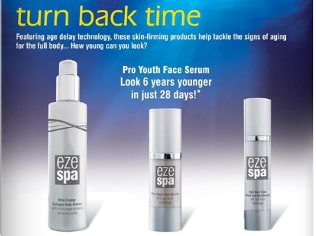 Chanel Anti Aging Products Turn Back Time by Ezespa Bodycare