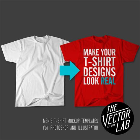 how to design shirts to mock up men s t shirt templates 02 flat thevectorlab