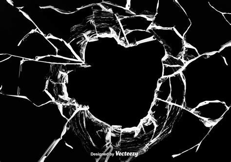 glass vector vector broken glass effect background download free