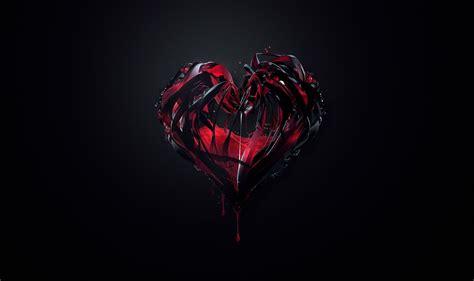 imagenes corazones oscuros im 225 genes de corazones g 243 ticos rotos imagui