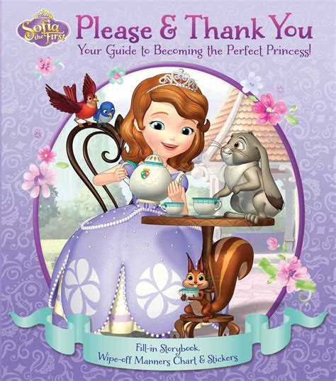 Disney Sofia The First Please Thank You Book By Princess Sofia Books