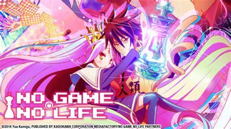 cinemaxx no game no life watch no game no life online at hulu