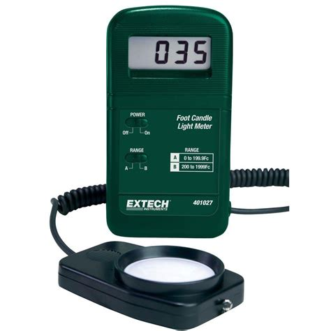 foot candle light meter app extech instruments pocket foot candle light meter 401027