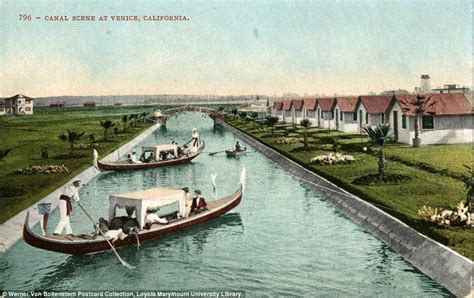 s day venice canal the original venice canals in la that vanished