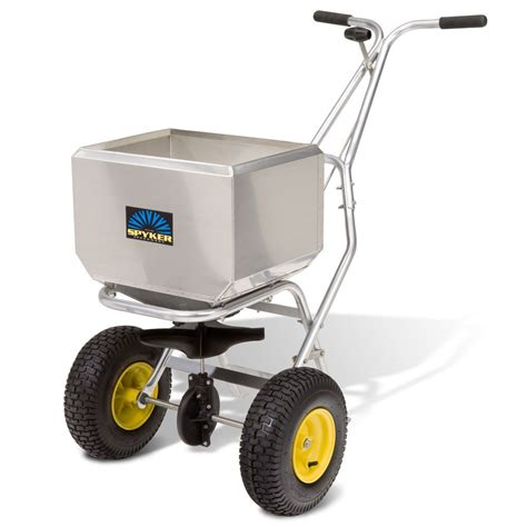 spyker p60 9020 broadcast spreader for seed salt and