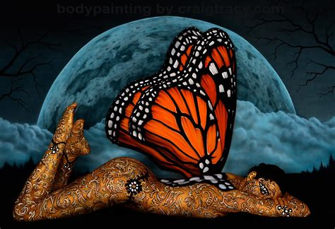 painting new animals gallery craig tracy s bodypainting gallery