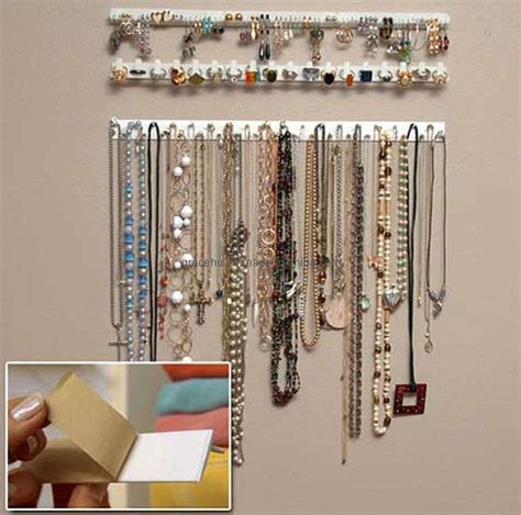 how to make a hanging jewelry organizer how do you store or hang lots of necklaces babycenter