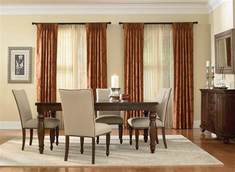 budget drapes inspired drapes from budget blinds traditional dining