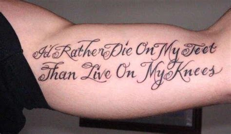 qoute tattoos for men meaningful tattoos for ideas and inspiration for guys