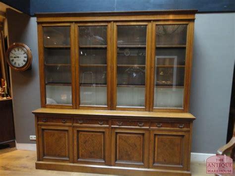 Antique Library Bookcase Antieke Boekenkast Antieke Bureau Inrichting Antique
