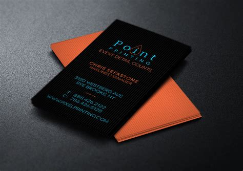 Digital Business Card Website Template by Free Digital Printer Business Card Template On Behance