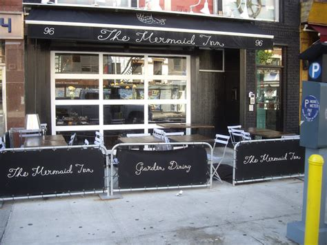glass garage doors for your new york city restaurant or