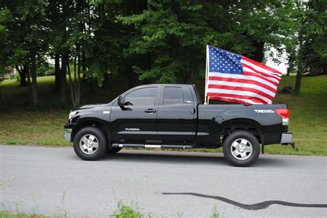 flags for truck beds truck flying flag finally built some flag holders in the