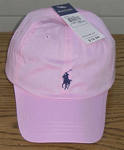 light pink polo baseball cap ralph lauren polo girls pink navy baseball cap one size