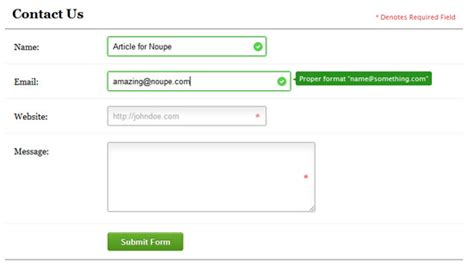 html5 pattern validation exle get your form on modern web forms tutorials