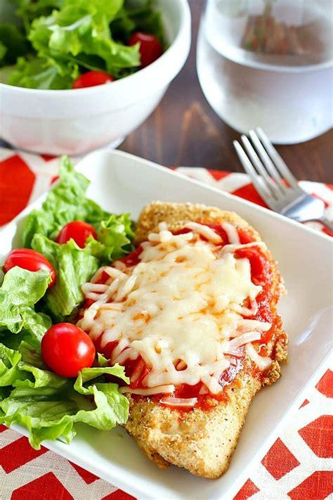 skinny chicken parmesan recipe yummy healthy easy