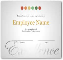 recognition award template best photos of employee appreciation certificates