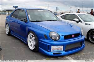 Blue Subaru Blue Subaru Wrx Benlevy