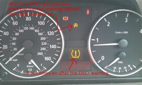 run flat warning light bmw 320d dsc and run flat indicator bmw driver net forums