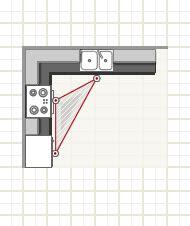 Galley Kitchen With Island Floor Plans Kitchen Layouts Plan Your Space Merillat