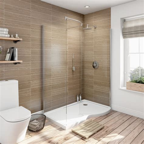 walk in shower increase the functionality and good looks