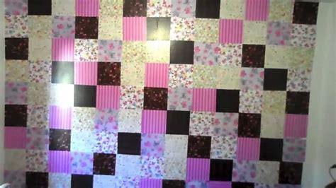 decorar parede papel de presente decorar a parede papel de presente passo a passo